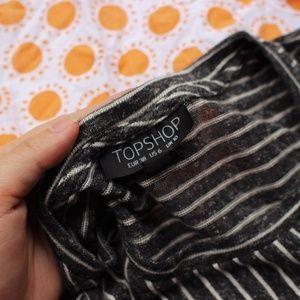 Topshop Tops - Topshop Striped Shirt